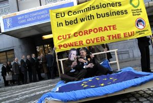 EC in bed with business (FOEE)